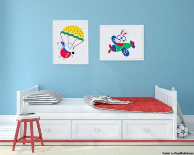 Nursery Wall Art Decoration | Di Lewis