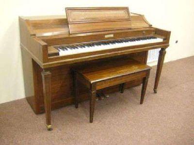 Baldwin Acrosonic Spinet Piano 36 inches 1967 serial #843901