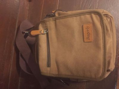 Bagerly Canvas Crossbody