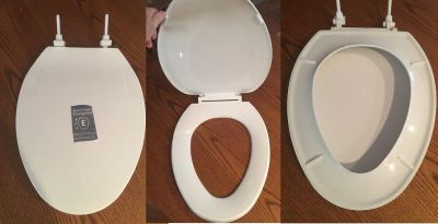 Oblong Toilet Seat Cover