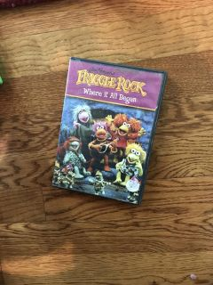 Fraggle Rock where it all began dvd