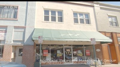 Pine Street Retail Space Available for Lease