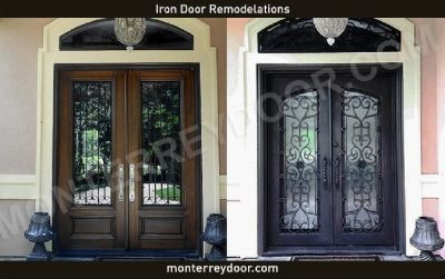 Glass Options for Iron Doors