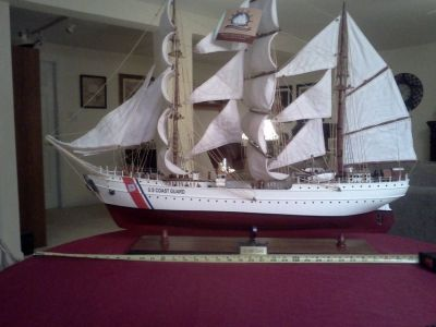 "U.S. COAST GUARD Academy's295-foot square rigged ship ""Eagle"""
