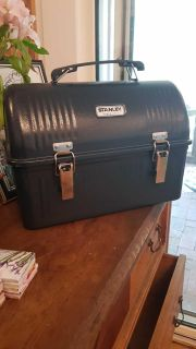 Stanley hard hat lunch box with thermos