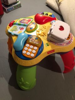 Fisher Price Music Table