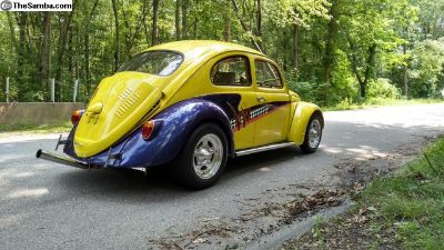 VW TRENDS COVER CAR GORGEOUS BUG