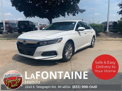 2018 Honda ACCORD SEDAN LX (White Orchid Pearl)