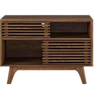 New Walnut Display TV Stand Includes FedXShipping