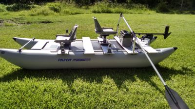 SeaEagle 375fc FoldCat Inflatable Pontoon Boat