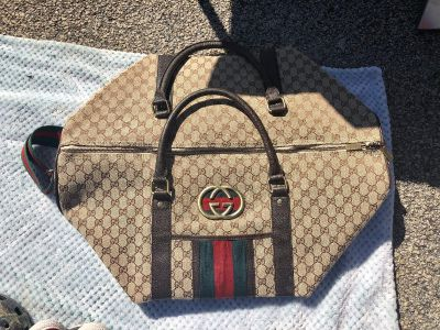 Authentic Gucci Overnight Bag, Excellent condition!