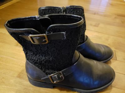 Girl Size 3.5 Dress Boots