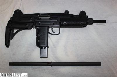 For Sale: IMI UZI Model A Action Arms Semi 9mm