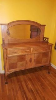 Antique Oak Buffet/sideboard