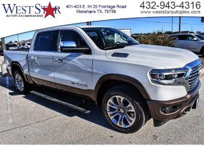 2019 RAM 1500 LARAMIE LONGHORN CREW CAB 4X2 (White)