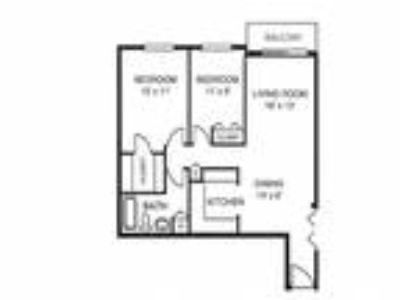 Riverwoods Apartments - Two BR One BA w/Patio