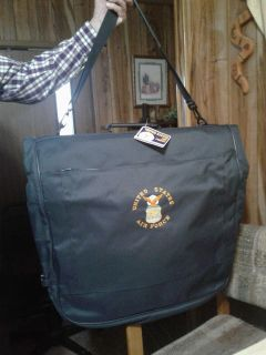 Garment bag. United States Air Force. New with tags. Meet in Angleton.