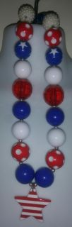 EUC Fourth of July Necklace