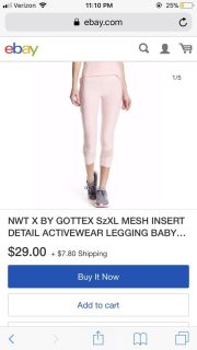 X by Gottex Leggings... new without tags