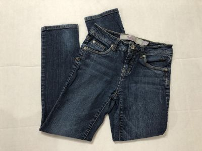 JUSTICE girls size 12 regular simply lOW stretch jeans-(b70)