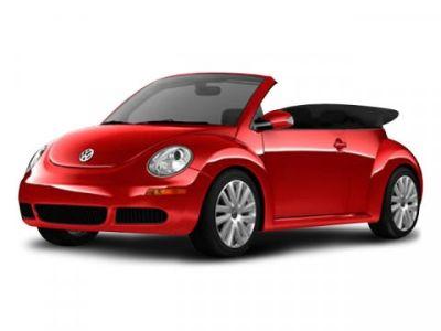 2008 Volkswagen New Beetle 2.5 PZEV (Red)