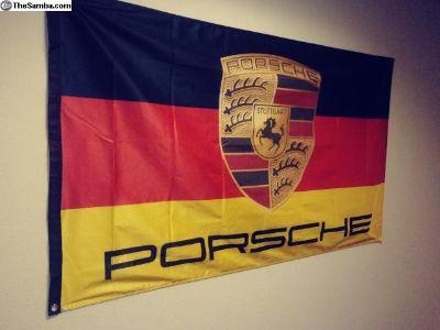 Porsche Flags Many Styles