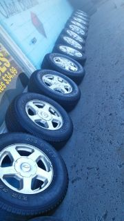 good used tires and good used rims