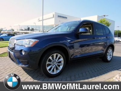2017 BMW X3 xDrive28i (Deep Sea Blue Metallic)