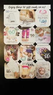Free gift cards or coupons