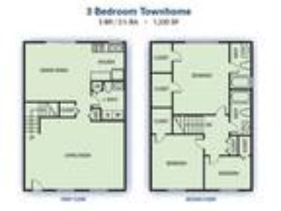 Stonetree Apartments - Three BR Townhome