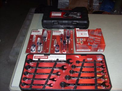 5 sets craftsman tools