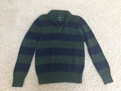 Chaps Quarter Zip Sweater Boys 14/16