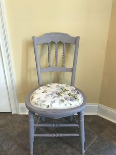Refinished Accent Chair