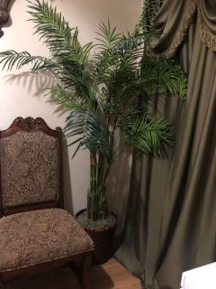 About 6 ft tall fake tree