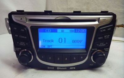 Buy 12 13 14 Hyundai Accent Radio Cd Mp3 Player XM Bluetooth 96170-1R150GU SP58395 motorcycle in Williamson, Georgia, United States, for US $150.00