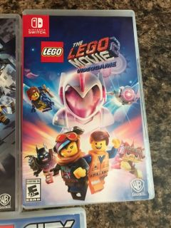 LEGO movie 2 switch game
