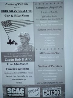 Nation of Patriots 2019  GRAND SALUTE CAR & BIKE SHOW