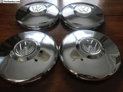 66-67 Type 3 Hubcaps almost new