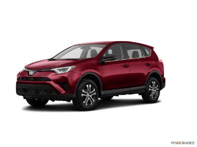 2018 Toyota RAV4 XLE (Ruby Flare Pearl)
