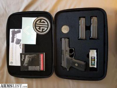 For Sale: Mint Sig P229 LegionMint 9mm