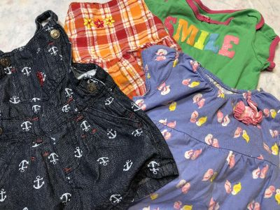 Baby girl summer clothes most size 6-9