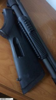 For Sale: Mossberg Speedfeed stock and trirail forend