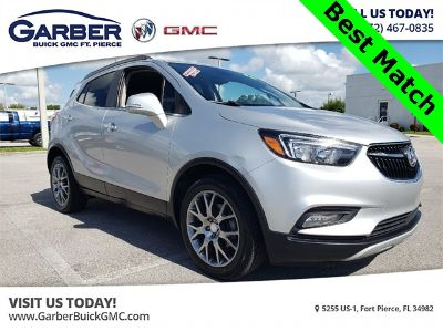 2018 Buick Encore Sport Touring (Quicksilver Metallic)
