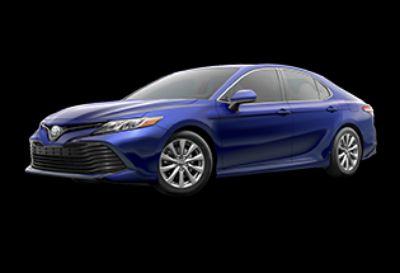 2018 Toyota Camry LE (Blue Crush Metallic)
