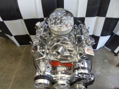 CHEVY 350 TURN KEY HI PERFORMANCE ROLLER ENGINE 400+HP CR# E
