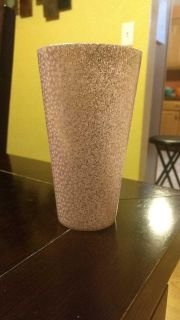 Pink and gold glass