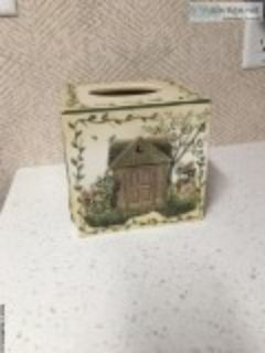 Kleenex box cover