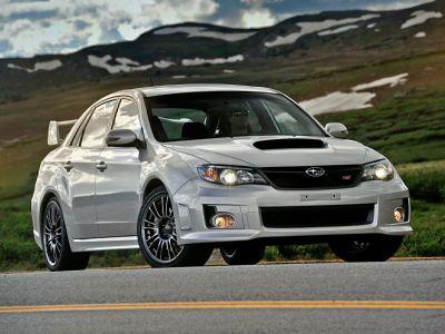 2012 Subaru Impreza WRX STI (Dark Gray Metallic)
