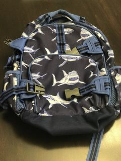 Pottery Barn Shark Backpack