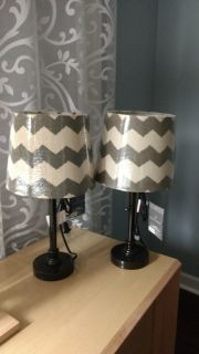 Set of brand new table lamps